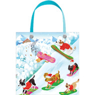 "Off Leash Small Square Gift Bag - 1 Each - 5"" X 5"" (9718B1)"