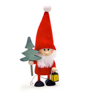 Tomte-Santa with Tree and Lantern (26308)