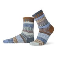 Solmate Socks - Adult Crew - Foxtail (FOXTAIL)