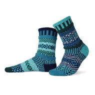 Solmate Socks - Adult Crew - Evergreen (EVERGREEN)