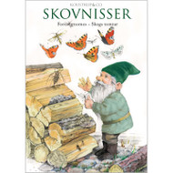 Notecard Folio - Forest Gnomes - Skogs Tomtar - 8 Per Package (68-SKOV)
