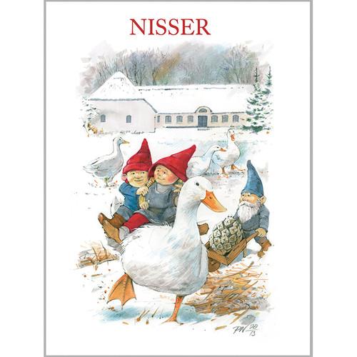 Notecard Folio - Tomtar - Nisser - 8 Per Package (68-NISSER)