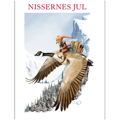 Notecard Folio -Christmas Nisse - Nissernes Jul (68-NISSERNES)