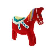 Felt Dala Horse - 6 Inches Tall - En Gry & Sif (F700S)