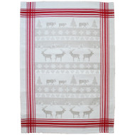 Reindeer Kitchen Tea Towel (5GL-Reindeer)