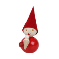"Tonttu Christmas Elf - Jaatelo - Ice Cream Cone- 11cm - 4.3"" (B7009)"
