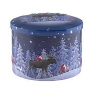 Nordic Nights Sea Salt Caramel Fudge Tin - 200 g - 7 oz (NN18)