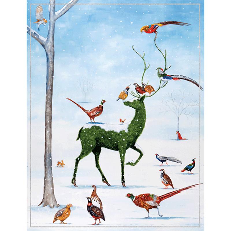 Boxed Christmas Cards.Winter Wonderland Large Boxed Christmas Cards 16 Cards 16 Envelopes