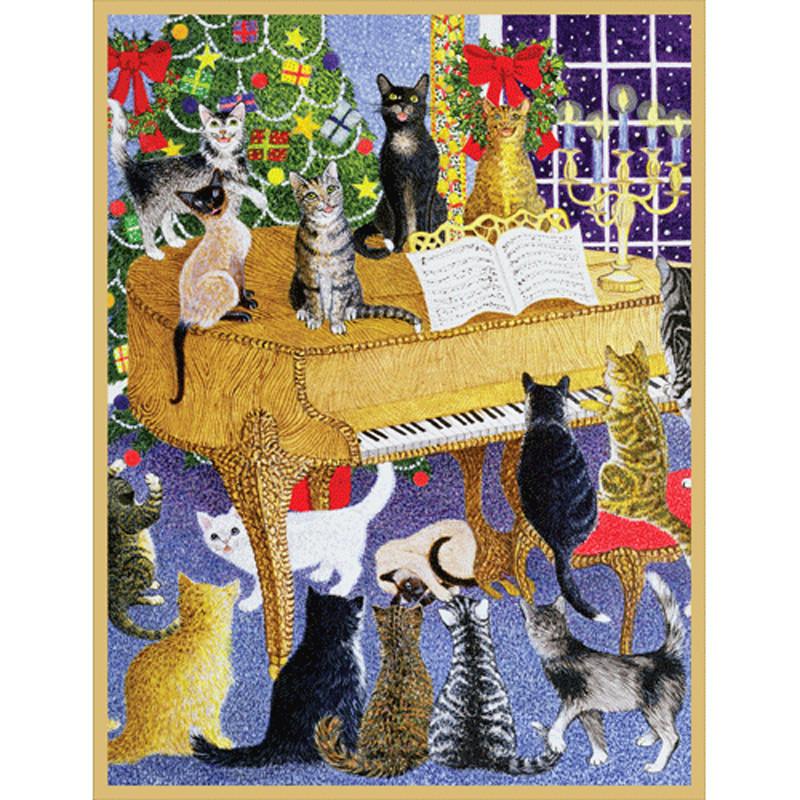 Unique Boxed Christmas Cards.Christmas Chorus Boxed Christmas Cards 16 Cards 16 Envelopes