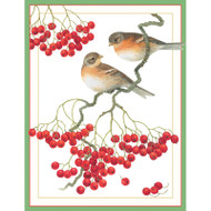 Bramlings on Berry Branches Boxed Christmas Cards - 16 Cards & 16 Envelopes (82239)