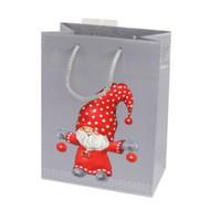 """Christmas Gift Bag - Nisse-Tomte Gift Bag - 7"""" x 9.5"""" (16632901)"""