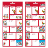Christmas God Jul Stickers - 24 Sticker Pack (16923301)