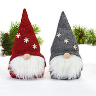 "Scandinavian Fabric Gnomes - Set of Two - 9"" (5346)"