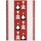 Tea Towel/Kitchen Towel - Kokspolka Red (100546R)