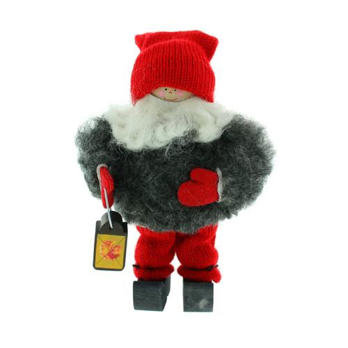 """Tomte Santa Boy with Lantern - 5"""" (17274)"""
