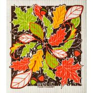 Swedish Dishcloth - Fall Leaves (70146)