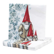 Jultomtar Paper Luncheon Napkins - 20 Per Package (35115)