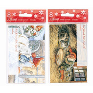God Jul Note Cards - Jenny Nystrom - 8 Per Package