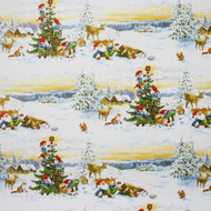 "Christmas Wrapping Paper - Tomteliden - 23"" x 72"" (3352)"