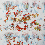 "Christmas Wrapping Paper - Winter Landscape - 23"" x 72"" (3454)"