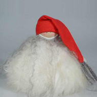 "Tomte with Long Stocking Cap and Bushy Beard - 4"" (7045)"