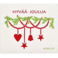 Swedish Dishcloth - Hyvaa Joulua (70147)