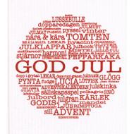 Swedish Dishcloth - God Jul Traditions (87292)