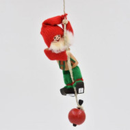 "Tomte Santa Climbing Rope w/Apple - 4"" (21901)"