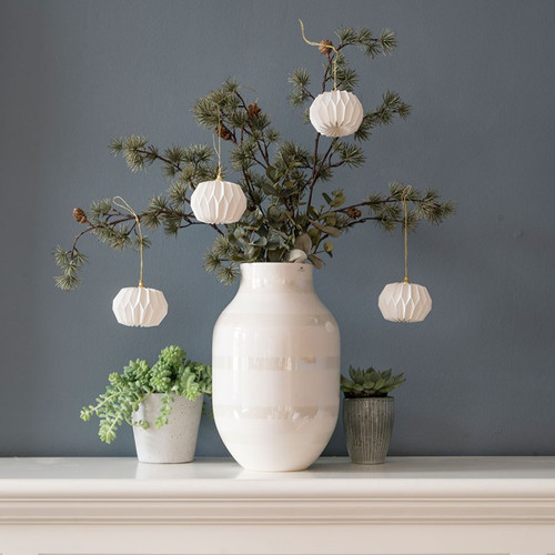 Paper Ornaments - Balls - 4 pc Set (846000)