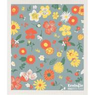 Swedish Dishcloth - Flowers of the Month (70149)