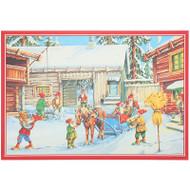 Scandinavian Christmas Poster - Eric Forsman (BKPM02)