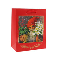"Christmas Gift Bag - Tomte - 4"" x 5"" - Jenny Nystrom (14439001)"