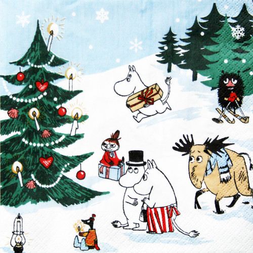 Moomin Wonderland Paper Luncheon Napkins - 20 pk (271.12L)