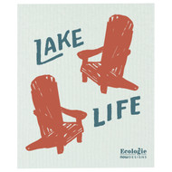Swedish Dishcloth - Life at the Lake (70158)