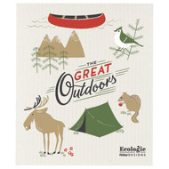 Swedish Dishcloth - The Great Outdoors (70156)