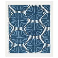 Swedish Dishcloth - Oval Weave Blue (221.47B)