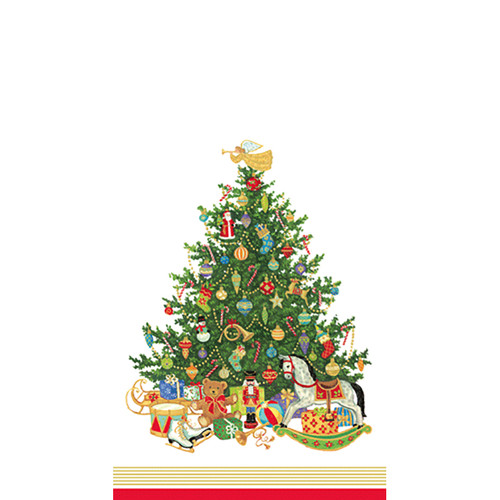 Oh Christmas Tree Guest Towel Napkins (12760G)