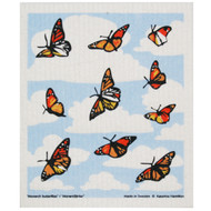 Swedish Dishcloth - Monarch Butterflies (221.52)