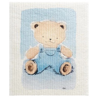 Swedish Dishcloth - Teddy Bear Blue (70160)