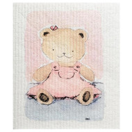 Swedish Dishcloth - Teddy Bear Pink (70161)