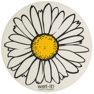 "Swedish Dishcloth - Daisy Round - 9 1/4"" (70163)"