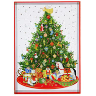 Oh Christmas Tree Advent Calendar Greeting Card - 1 Card & 1 Envelope (ADV252C)