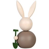 "Pupujussi Bunny with Shovel - 6"" (B7176)"