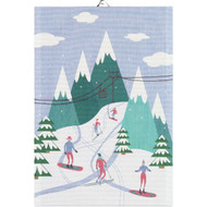 Ekelund Tea/Kitchen Towel - Downhill (Downhill)