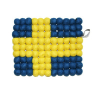 Wool Trivet/Pot Mat - Swedish Flag (1588S)