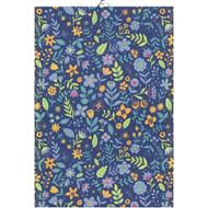 Ekelund Tea/Kitchen Towel - Blue Meadow - 35 cm X 50 cm (Blue Meadow)