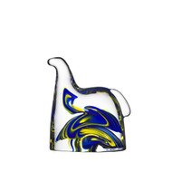 Swedish Horse - Blue and Yellow - H: 4.375 W: 4.75 (7015580)