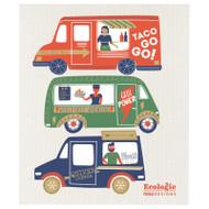Swedish Dishcloth - Food Trucks (70166)