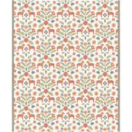 Ekelund Organic Soft Throw Blanket - Kurbitsblom - 140 cm x 170 cm (Kurbitblom-B)