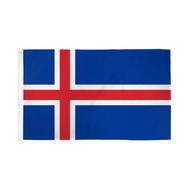 Iceland Flag - 3' X 5' - Super Polyester (Ice-35)